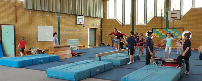 Falcon Gymnastics Club Bedford   Holiday Courses